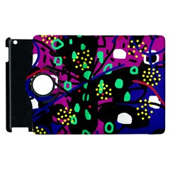 Abstract colorful chaos Apple iPad 3/4 Flip 360 Case