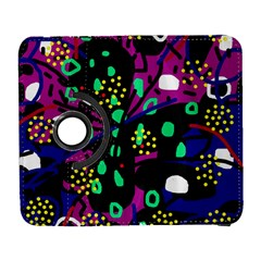 Abstract colorful chaos Samsung Galaxy S  III Flip 360 Case