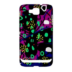 Abstract colorful chaos Samsung Ativ S i8750 Hardshell Case