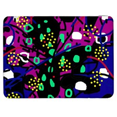 Abstract colorful chaos Samsung Galaxy Tab 7  P1000 Flip Case