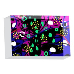 Abstract colorful chaos 4 x 6  Acrylic Photo Blocks