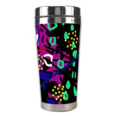 Abstract colorful chaos Stainless Steel Travel Tumblers