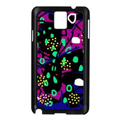 Abstract colorful chaos Samsung Galaxy Note 3 N9005 Case (Black)