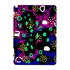 Abstract colorful chaos Samsung Galaxy Note 10.1 (P600) Hardshell Case