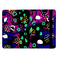 Abstract colorful chaos Samsung Galaxy Tab Pro 12.2  Flip Case