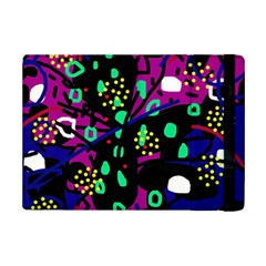 Abstract colorful chaos iPad Mini 2 Flip Cases