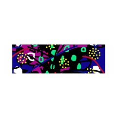 Abstract colorful chaos Satin Scarf (Oblong)