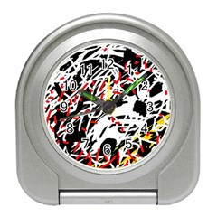 Colorful chaos by Moma Travel Alarm Clocks
