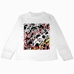 Colorful chaos by Moma Kids Long Sleeve T-Shirts