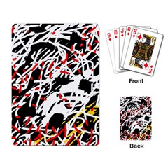 Colorful chaos by Moma Playing Card