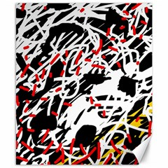 Colorful chaos by Moma Canvas 8  x 10