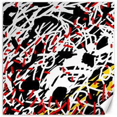 Colorful chaos by Moma Canvas 16  x 16