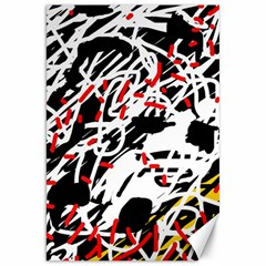 Colorful chaos by Moma Canvas 20  x 30