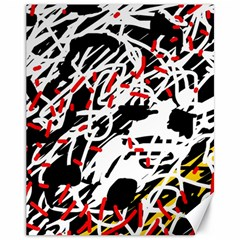 Colorful chaos by Moma Canvas 11  x 14