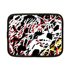 Colorful chaos by Moma Netbook Case (Small)