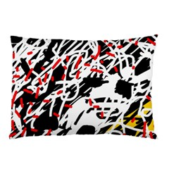 Colorful chaos by Moma Pillow Case