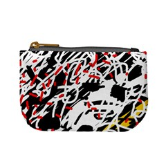 Colorful chaos by Moma Mini Coin Purses