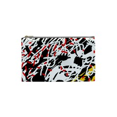 Colorful chaos by Moma Cosmetic Bag (Small)
