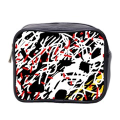 Colorful chaos by Moma Mini Toiletries Bag 2-Side