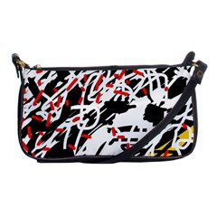 Colorful chaos by Moma Shoulder Clutch Bags