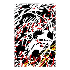 Colorful chaos by Moma Shower Curtain 48  x 72  (Small)