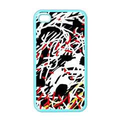 Colorful chaos by Moma Apple iPhone 4 Case (Color)