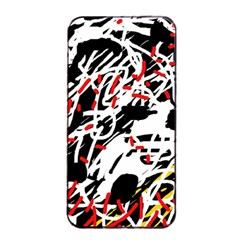 Colorful chaos by Moma Apple iPhone 4/4s Seamless Case (Black)