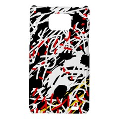 Colorful chaos by Moma Samsung Galaxy S2 i9100 Hardshell Case