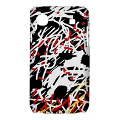 Colorful chaos by Moma Samsung Galaxy SL i9003 Hardshell Case