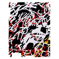 Colorful chaos by Moma Apple iPad 2 Hardshell Case