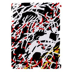 Colorful chaos by Moma Apple iPad 3/4 Hardshell Case (Compatible with Smart Cover)
