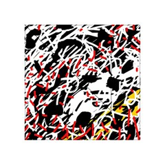 Colorful chaos by Moma Acrylic Tangram Puzzle (4  x 4 )