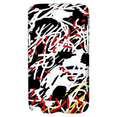 Colorful chaos by Moma Samsung Galaxy Note 2 Hardshell Case