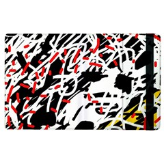Colorful chaos by Moma Apple iPad 2 Flip Case