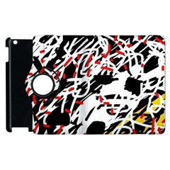 Colorful chaos by Moma Apple iPad 2 Flip 360 Case