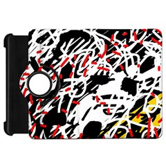 Colorful chaos by Moma Kindle Fire HD Flip 360 Case