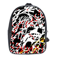 Colorful chaos by Moma School Bags (XL)