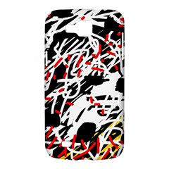 Colorful chaos by Moma Samsung Galaxy Premier I9260 Hardshell Case