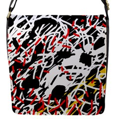 Colorful chaos by Moma Flap Messenger Bag (S)