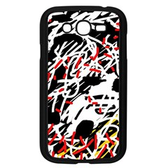 Colorful chaos by Moma Samsung Galaxy Grand DUOS I9082 Case (Black)