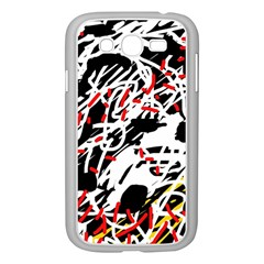 Colorful chaos by Moma Samsung Galaxy Grand DUOS I9082 Case (White)