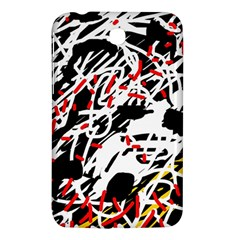Colorful chaos by Moma Samsung Galaxy Tab 3 (7 ) P3200 Hardshell Case