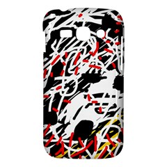 Colorful chaos by Moma Samsung Galaxy Ace 3 S7272 Hardshell Case