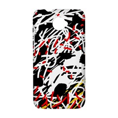 Colorful chaos by Moma HTC Desire 601 Hardshell Case