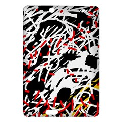 Colorful chaos by Moma Amazon Kindle Fire HD (2013) Hardshell Case