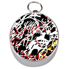 Colorful chaos by Moma Silver Compasses