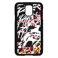 Colorful chaos by Moma Samsung Galaxy S5 Case (Black)