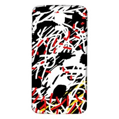 Colorful chaos by Moma Samsung Galaxy S5 Back Case (White)