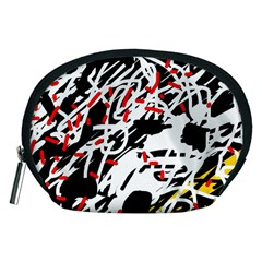 Colorful chaos by Moma Accessory Pouches (Medium)