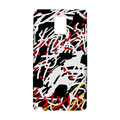 Colorful chaos by Moma Samsung Galaxy Note 4 Hardshell Case